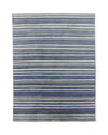 Sea Stripe Hand-Knotted Rug,