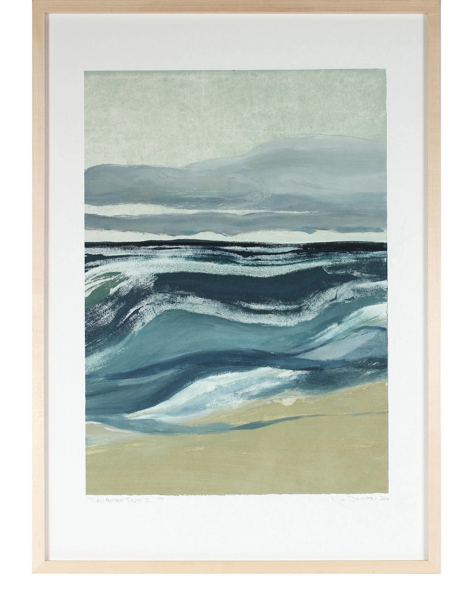 """""""Californian Tides"""" by Rob Delamater,"""