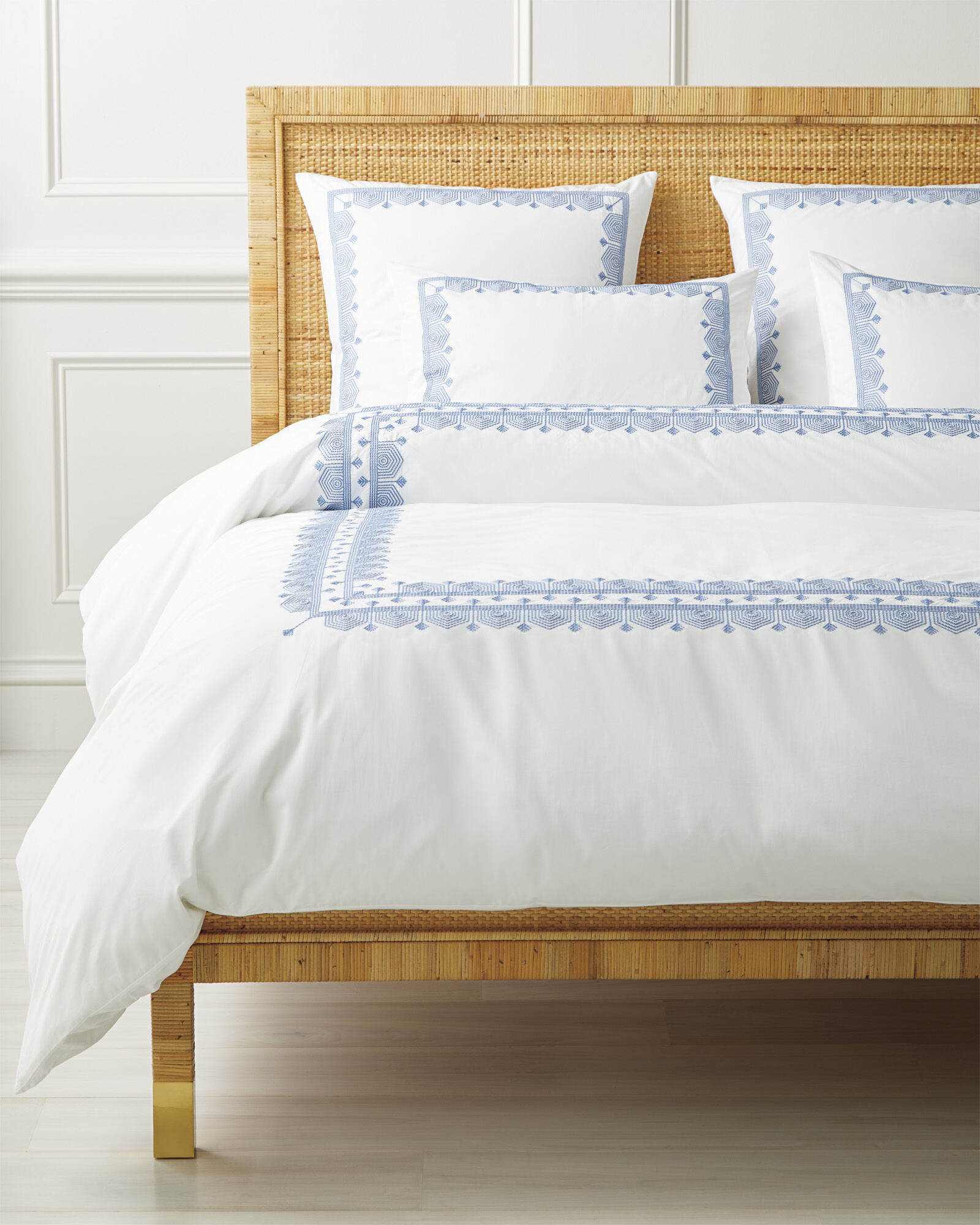 Olympia Duvet Cover, French Blue