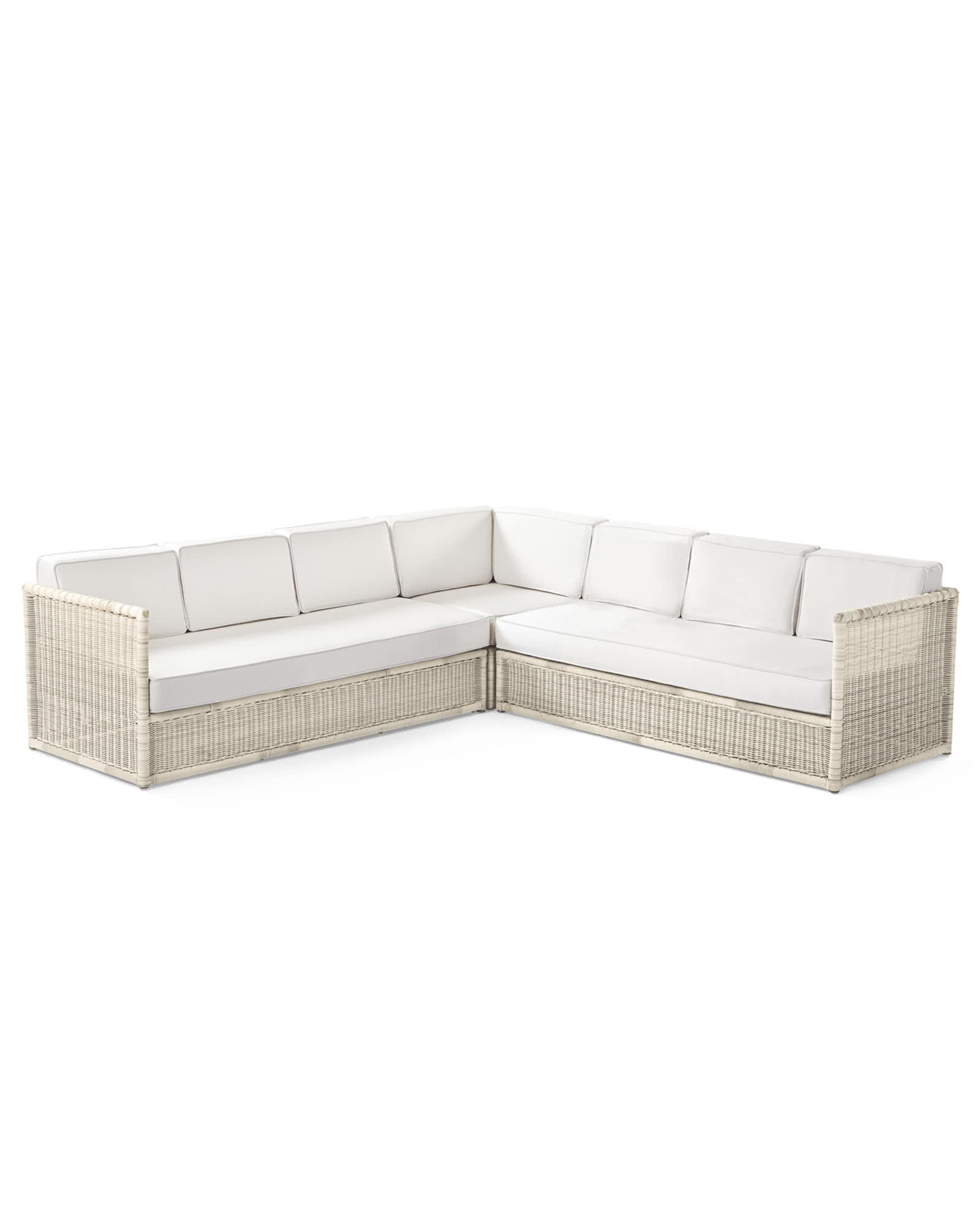 Pacifica Corner Sectional   Driftwood, ...