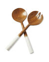 Wood and Marble Serving Set,