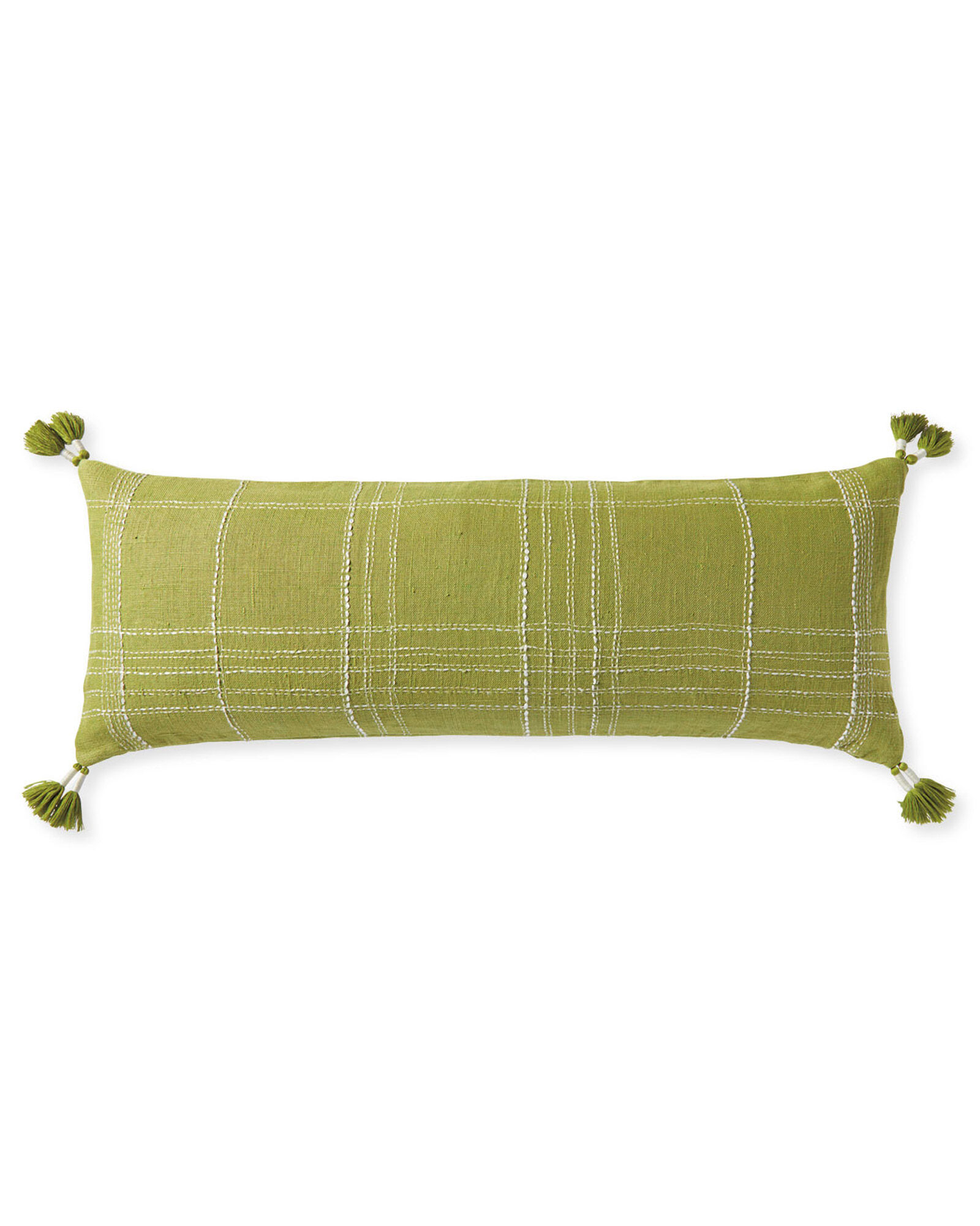 Asheville Pillow Cover, Chartreuse