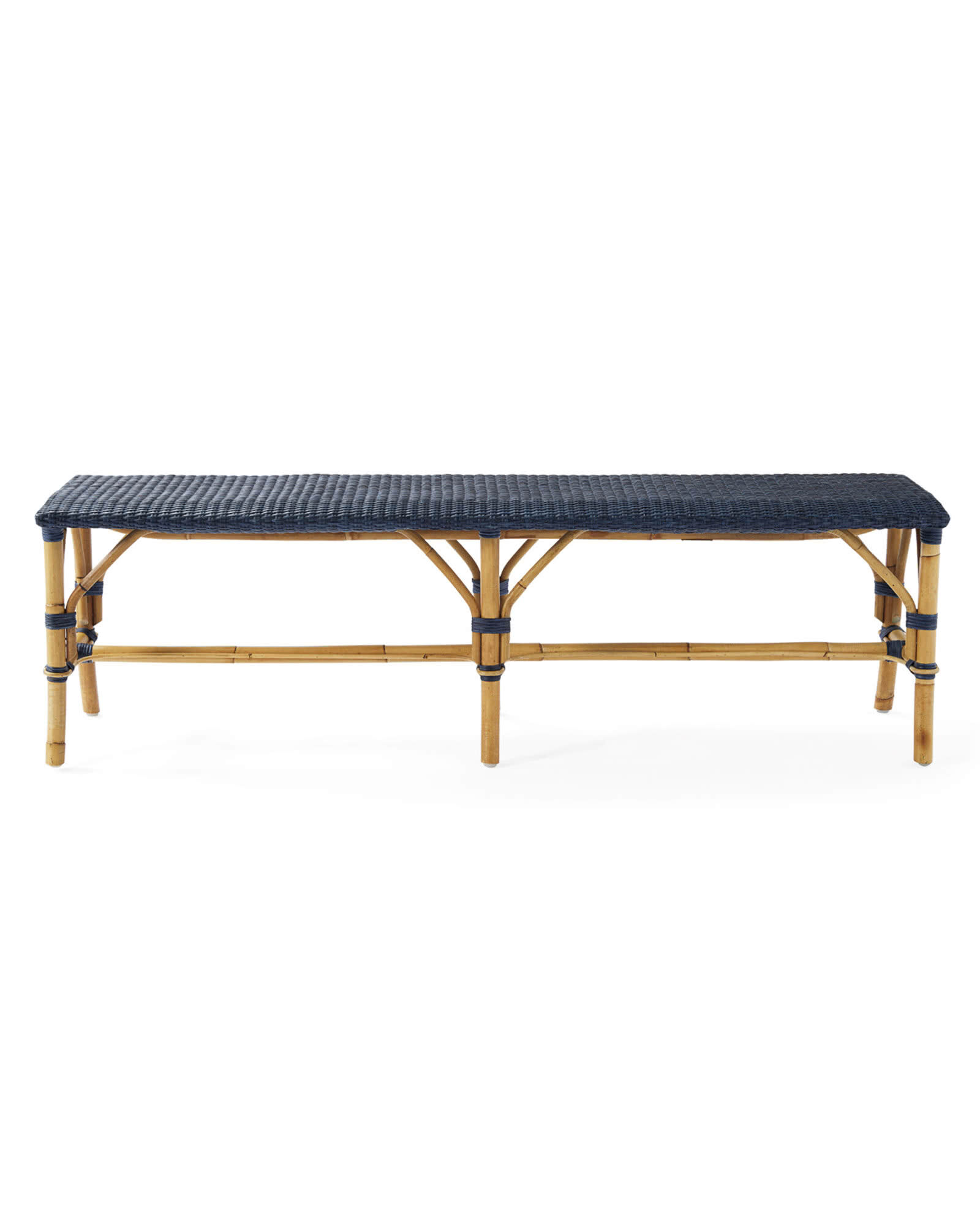 Sunwashed Riviera Backless Bench