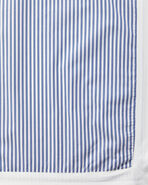 Oxford Stripe Bedding Swatch, Blue