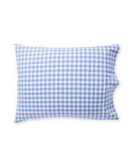Gingham Pillowcases (Set of 2), French Blue