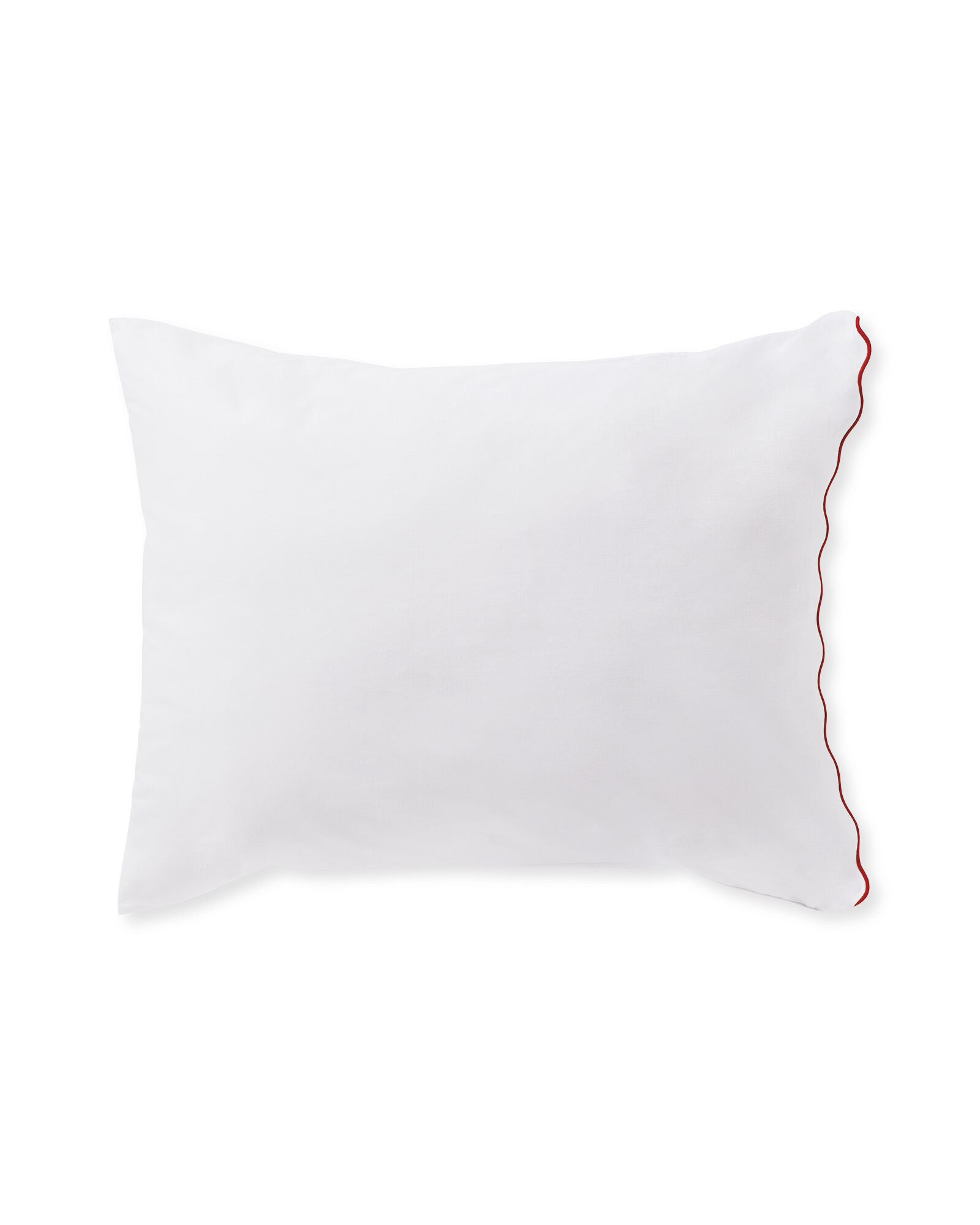 Wave Pillowcases (Set of 2), Lobster