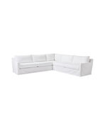 Summit Slipcovered L-Sectional - Left-Facing,