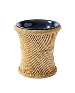 Market Side Table, Natural/Midnight