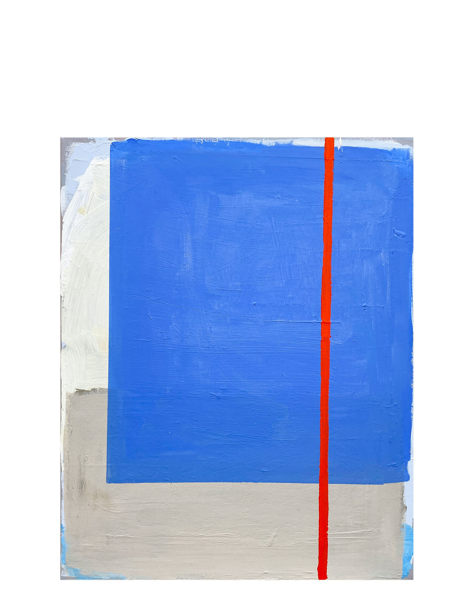 """""""Blue, Red"""" by Laurie Fisher,"""