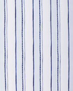 Acadia Crib Sheet Swatch, Sky