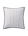 Artichoke Quilted Shams, Navy