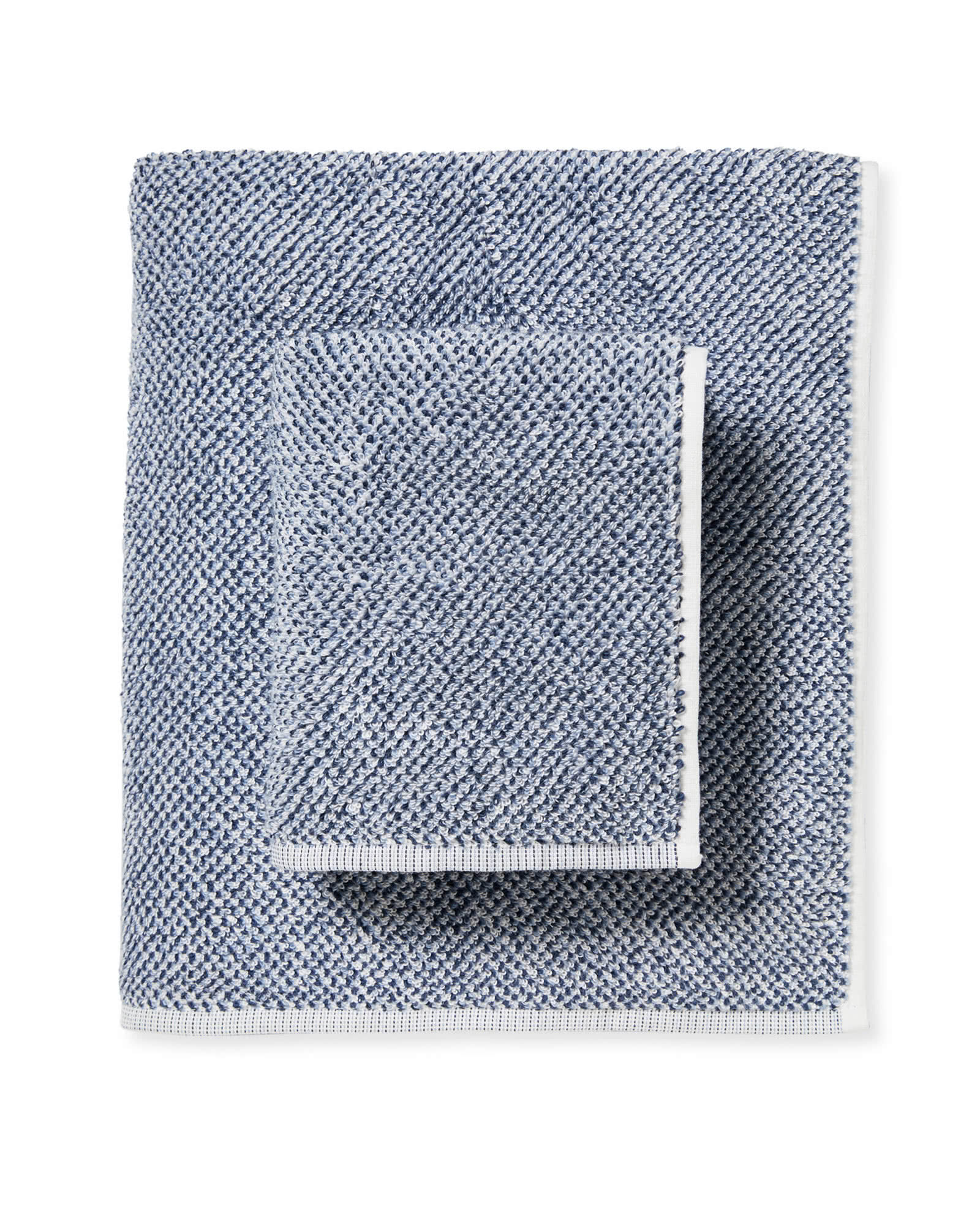 North Fork Bath Collection, Heathered Navy