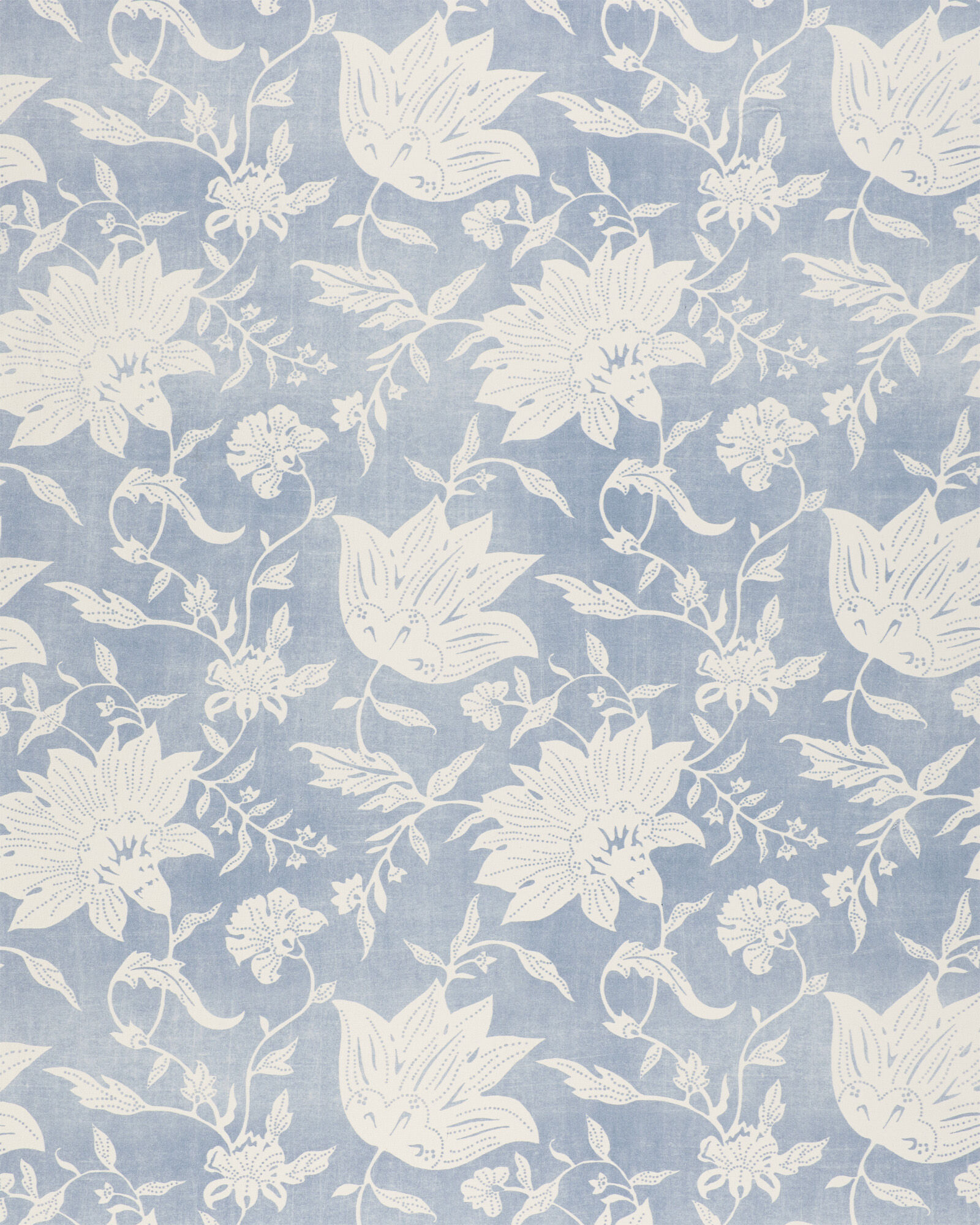 Fabric by the Yard - S&L Performance Deauville, Coastal Blue