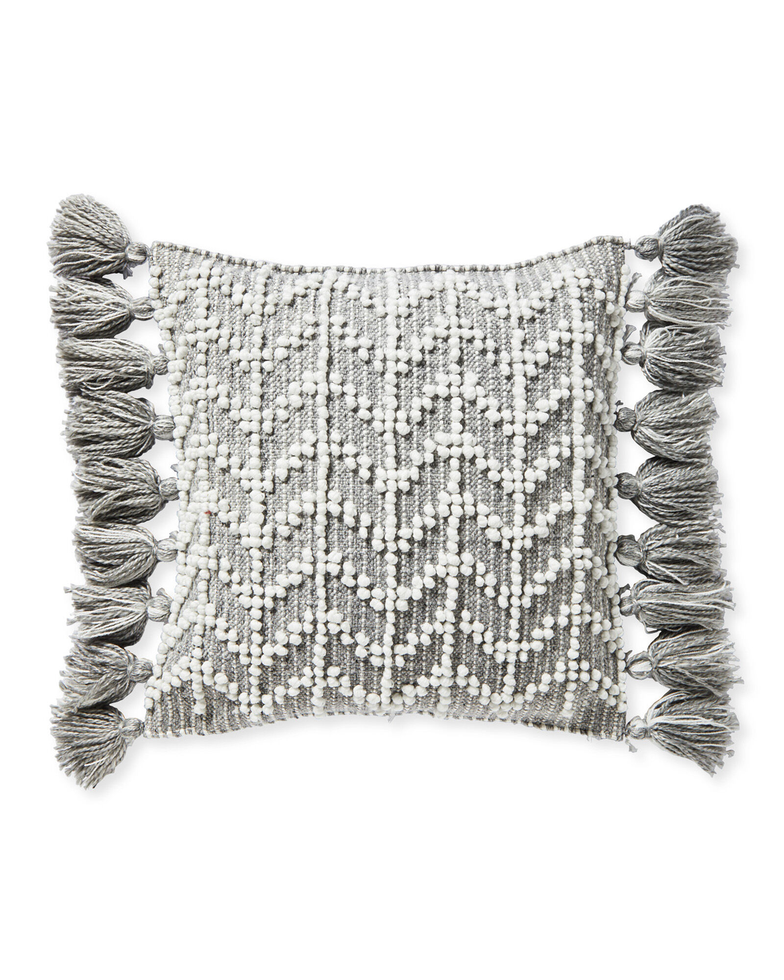 West Beach Pillow Cover, Heathered Smoke