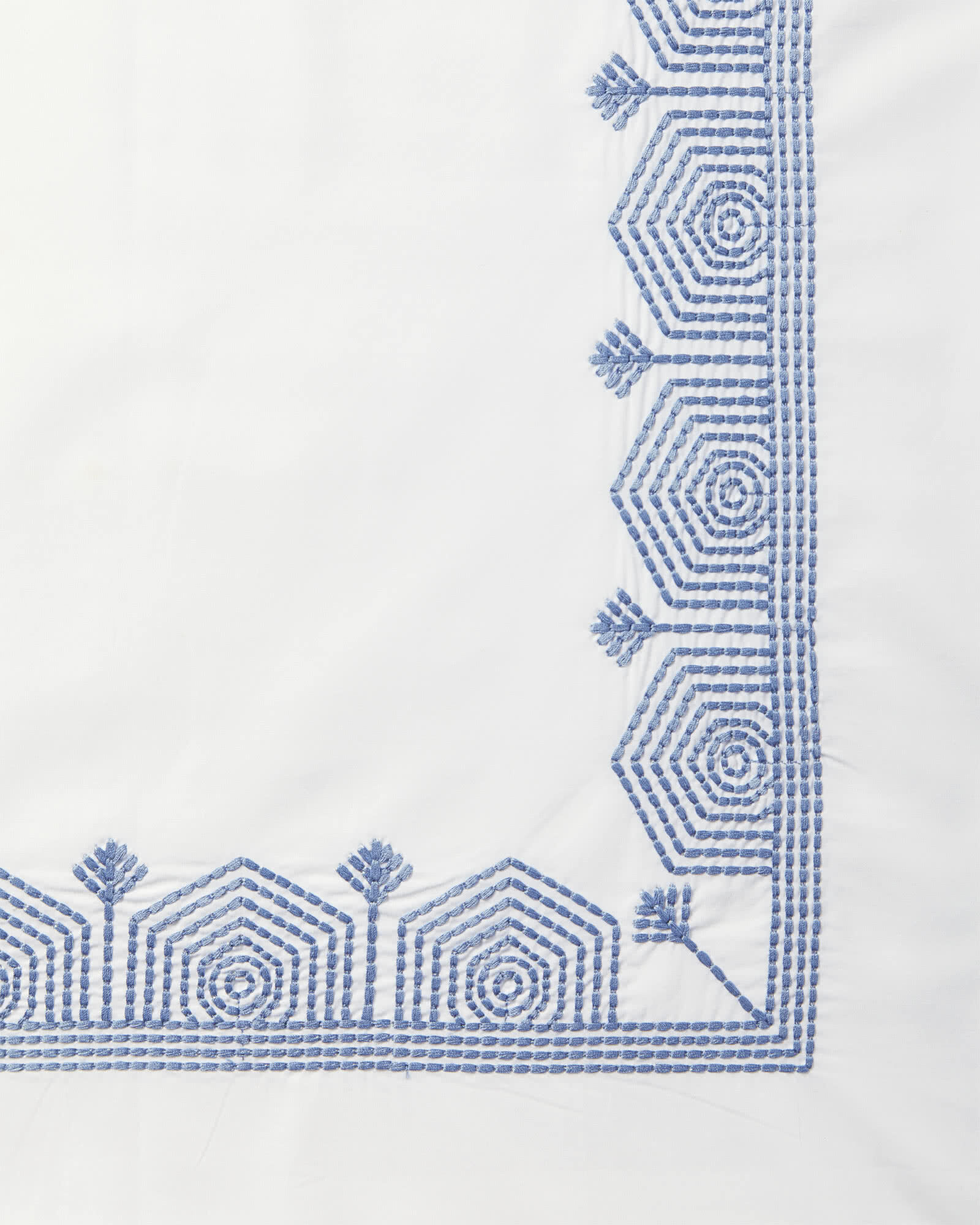 Olympia Bedding Swatch, French Blue