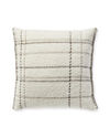 Stratton Pillow Cover, Ivory/Natural