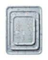 Westwind Toile Tray - Rectangular,