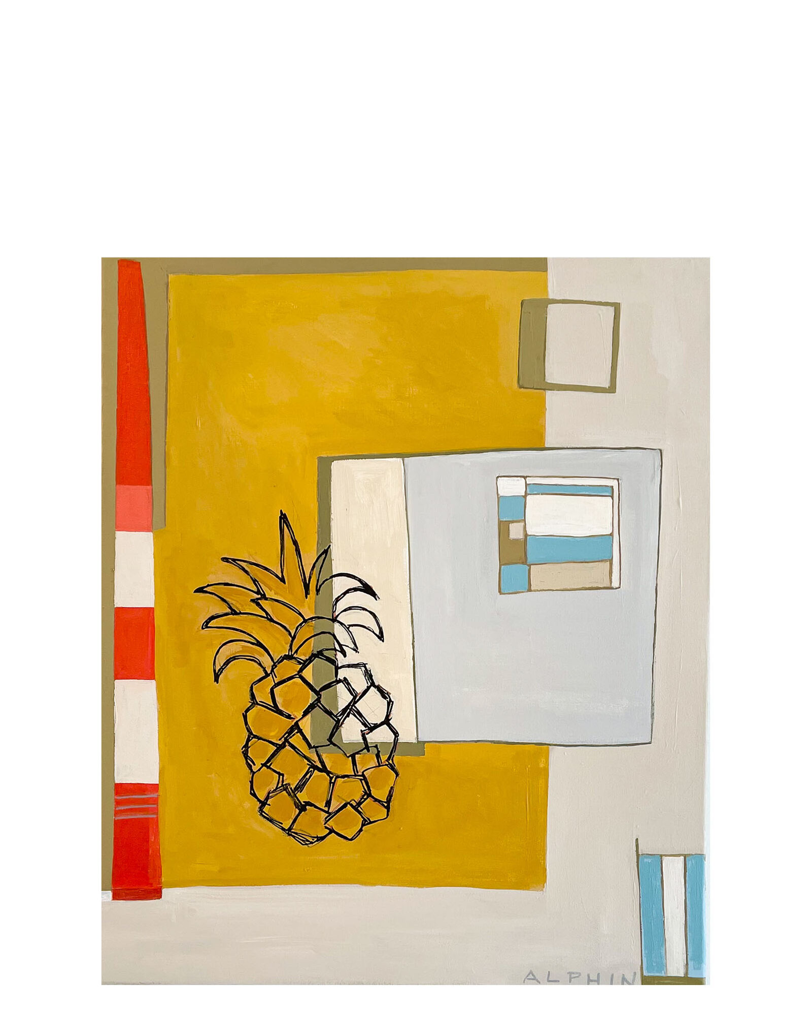 """""""Pineapple Express"""" by Debby Alphin,"""