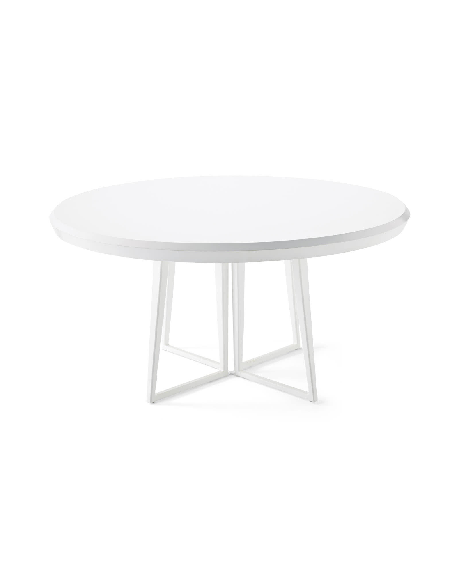 """Downing 60"""" Dining Table, White"""