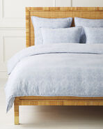 Cavallo Tile Duvet Cover, Blue Chambray