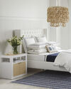 Tall Broderick Tufted Bed,