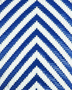 Chevron Riviera Furniture Swatch, Navy