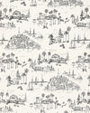 Fabric by the Yard - Seahaven Linen, Black