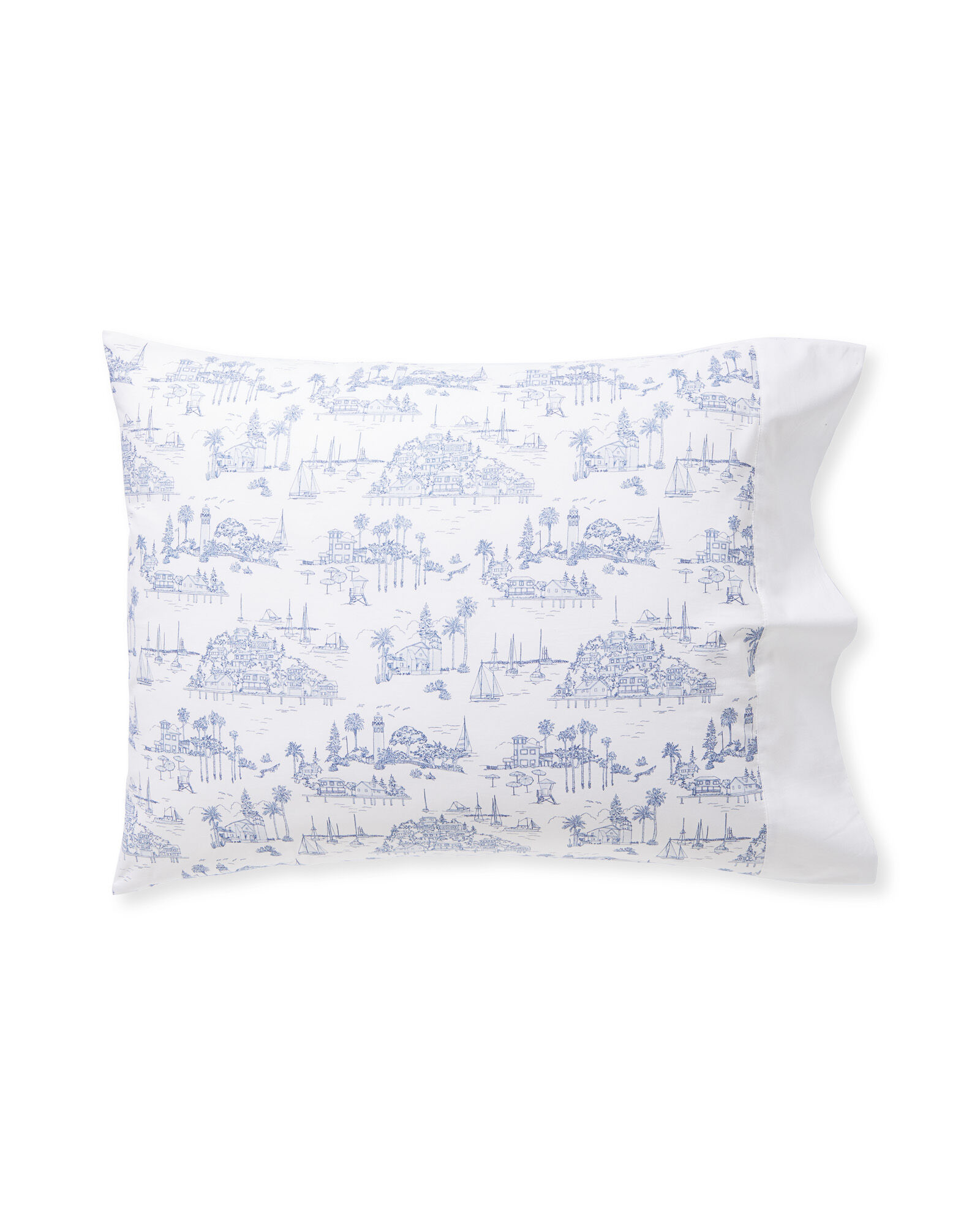 Seahaven Pillowcases (Set of 2), French Blue