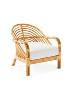 Edgewater Lounge Chair, Perennials Basketweave White