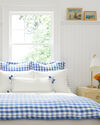 Tarifa Pillow Cover, French Blue