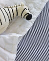 Oxford Stripe Crib Sheet,