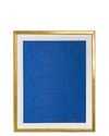 """""""Motion in Navy on Blue Silk #1"""" by Kayce Hughes,"""