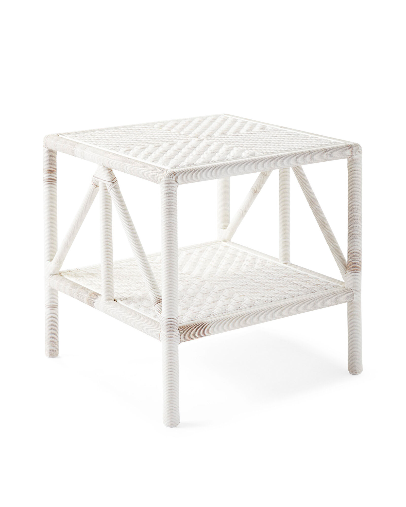 Trestle Outdoor Side Table