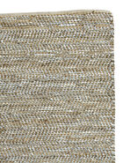 Metallic Suede & Hemp Rug Swatch,