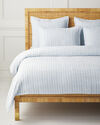 Carlyle Coverlet - Sky,