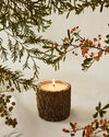 Coastal Christmas Bark Candle,