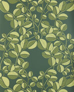 Valley Wallpaper Swatch, Evergreen