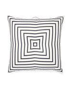 Harbour Island Floor Pillow, Navy Classic Stripe Canvas