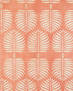 Granada Wallpaper Swatch, Burnt Orange/Sand