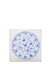 """""""Cloissione Plate"""" by Carol Saxe,"""