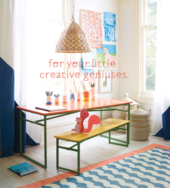for your little creative geniuses.