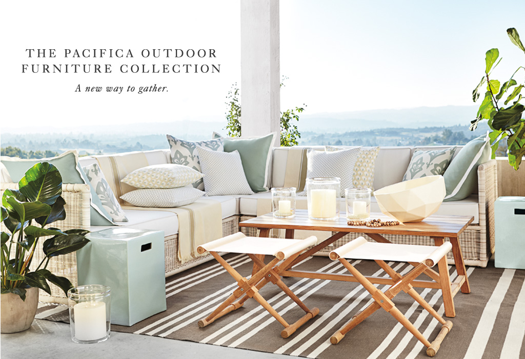 The Pacifica Outdoor Furniture Collection: A new way to gather.