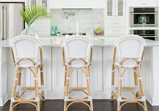 Riviera Counter Stools in White
