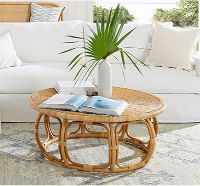 Natural Style Anguilla Coffee Table