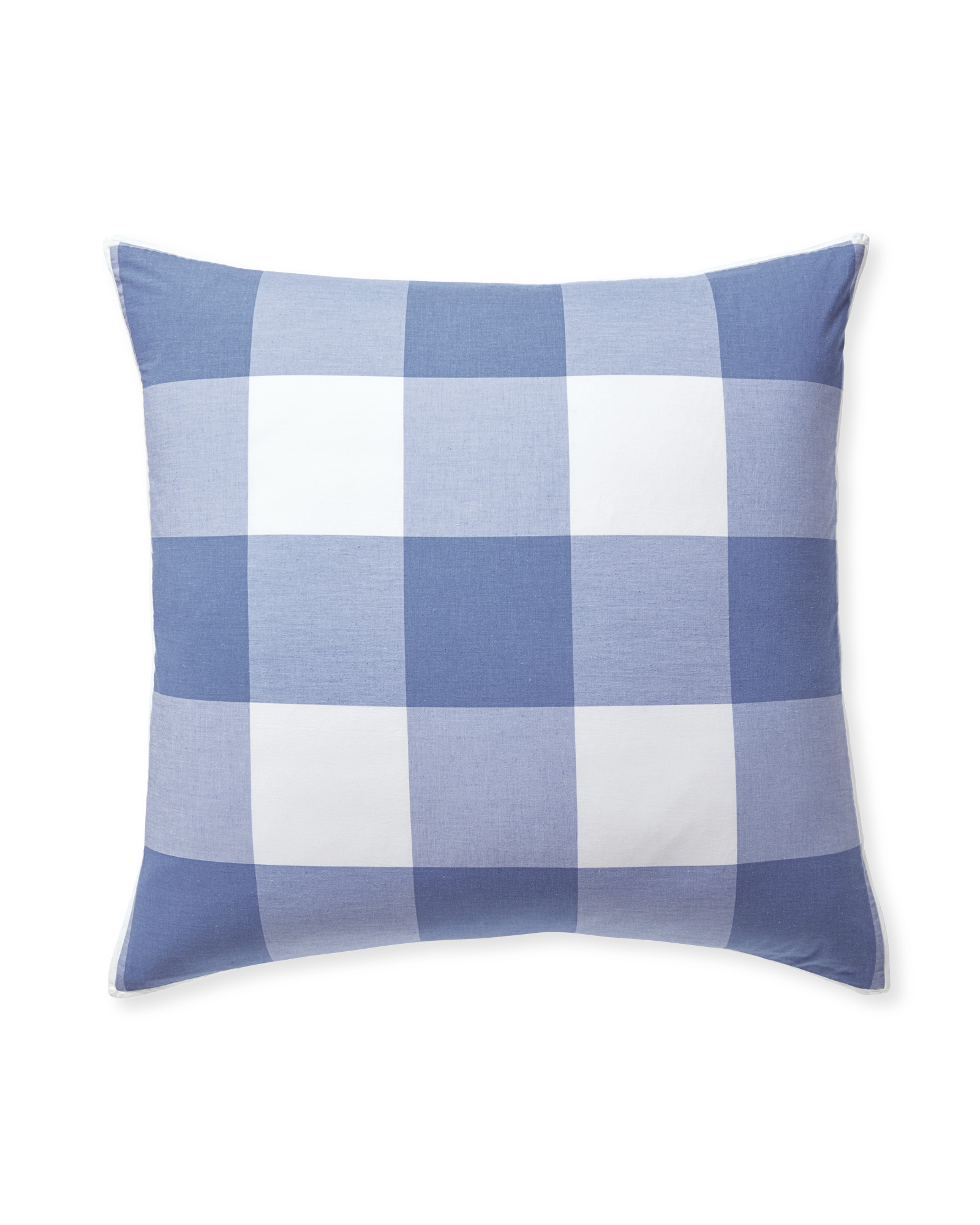 Gingham Shams, French Blue