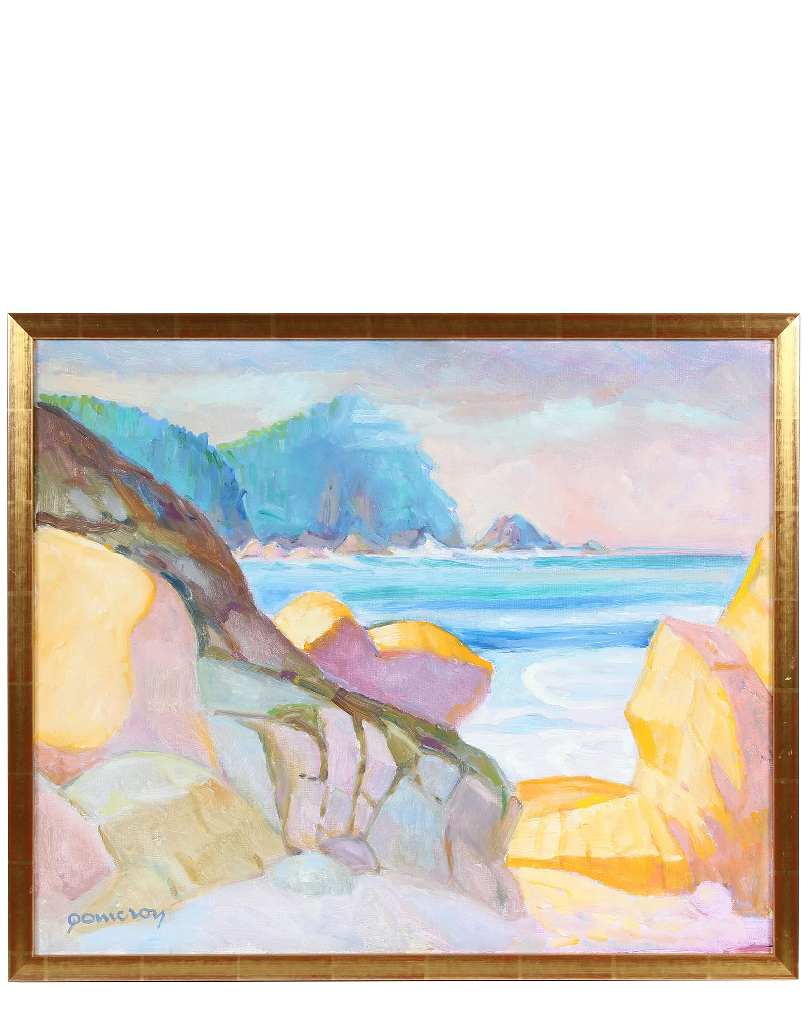 """""""Pacifica at Sunrise"""" by Frederick Pomeroy,"""