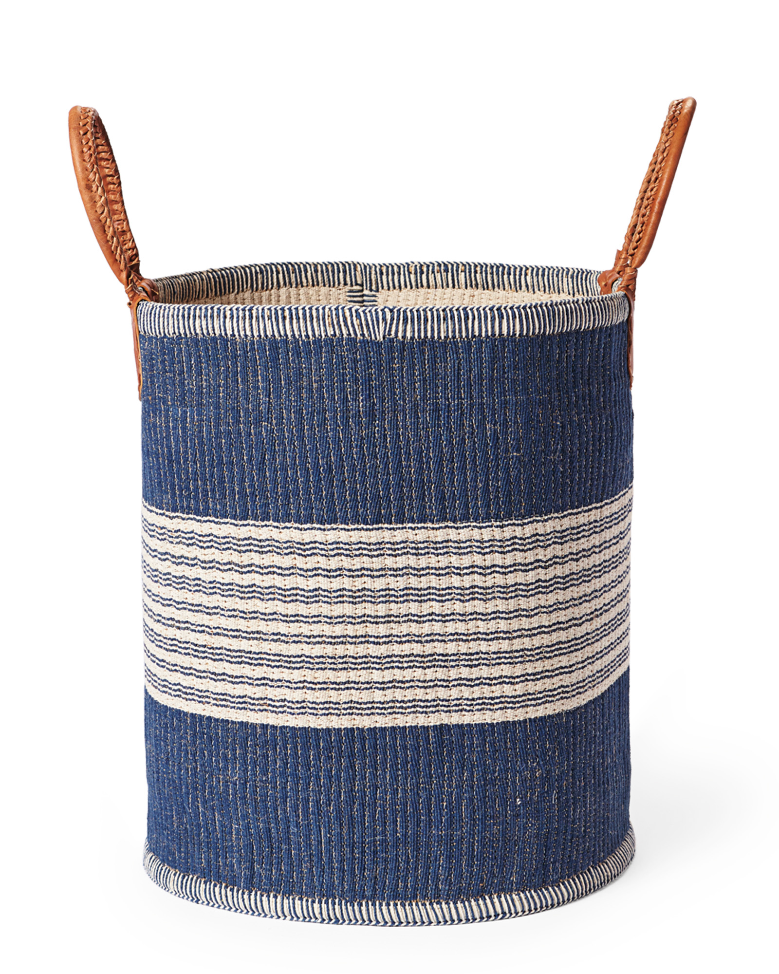 Huntington Basket, Indigo