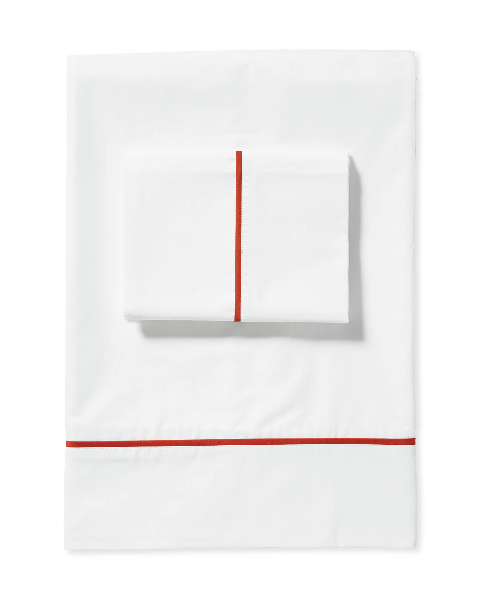 Beach Club Sheet Set, Papaya