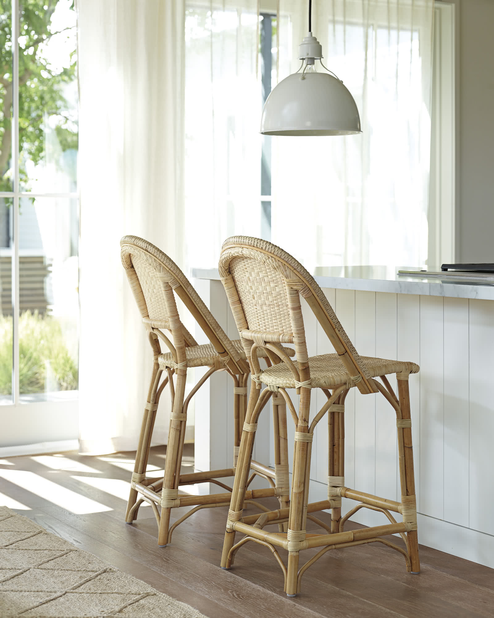 Sunwashed Riviera Counter Stool, Natural