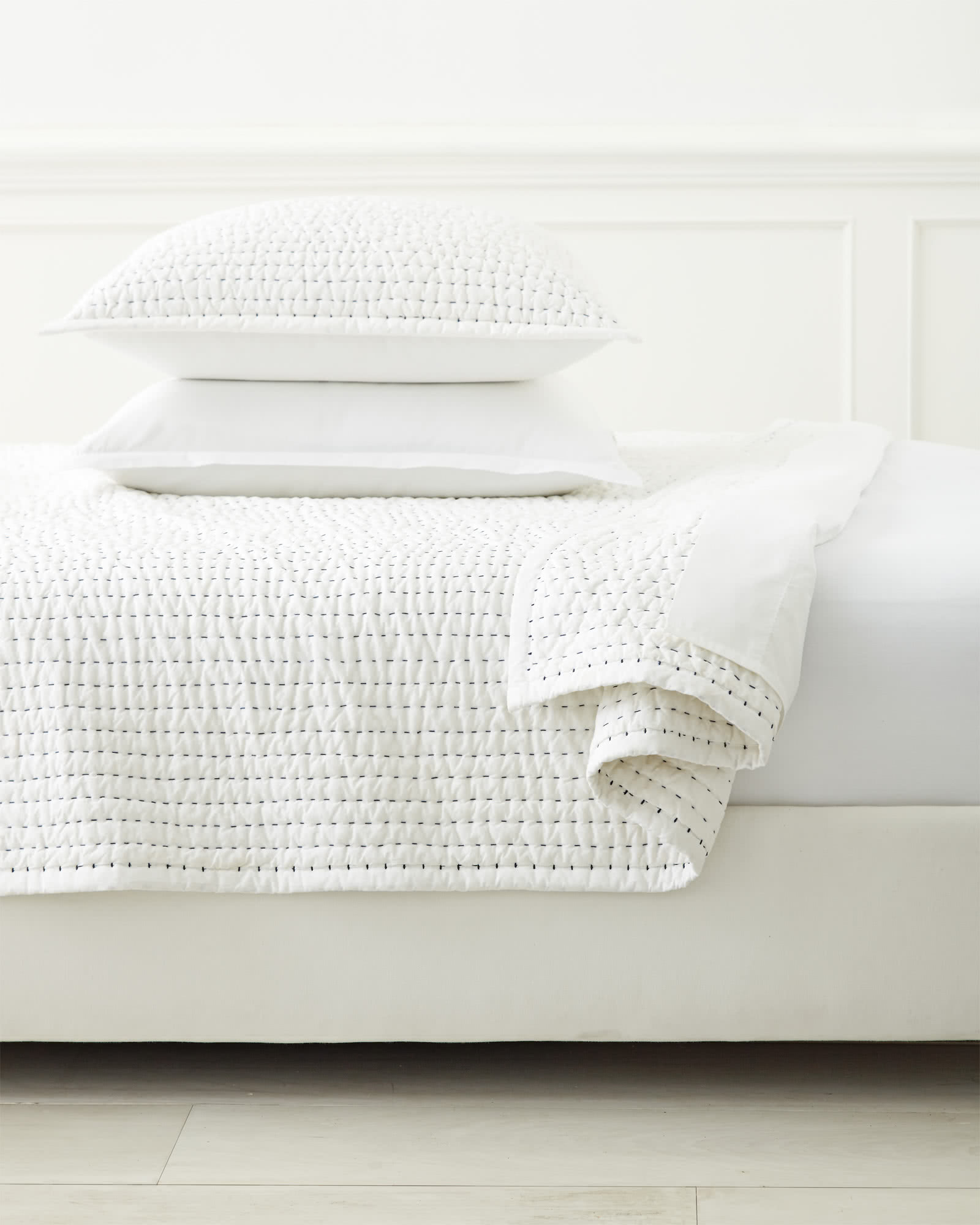 Chambers Quilted Shams,